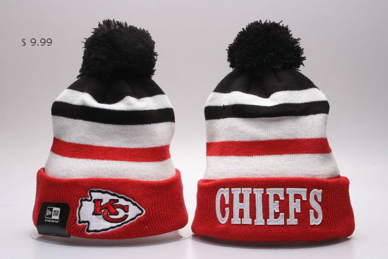 b7966502a Sale Cheap NFL Kansas City Chiefs Beanies Knit Hats Shop Quality ...