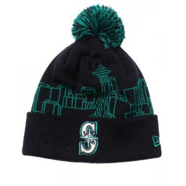 2f013bed3 Cheap MLB Knit Hats Seattle Mariners Wholesale Beanies Shop SMKH01