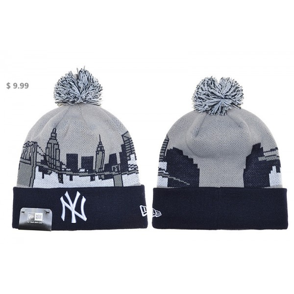 Wholesale MLB New York Yankees Knit Hat NE Latest Fans Sports Beanie ... 1f3e6af28ba6