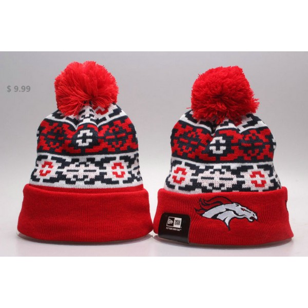 e4f99e22074f8 Cheap NFL Denver Broncos Beanie Wholesale NE Retro Chill Sport Knit ...