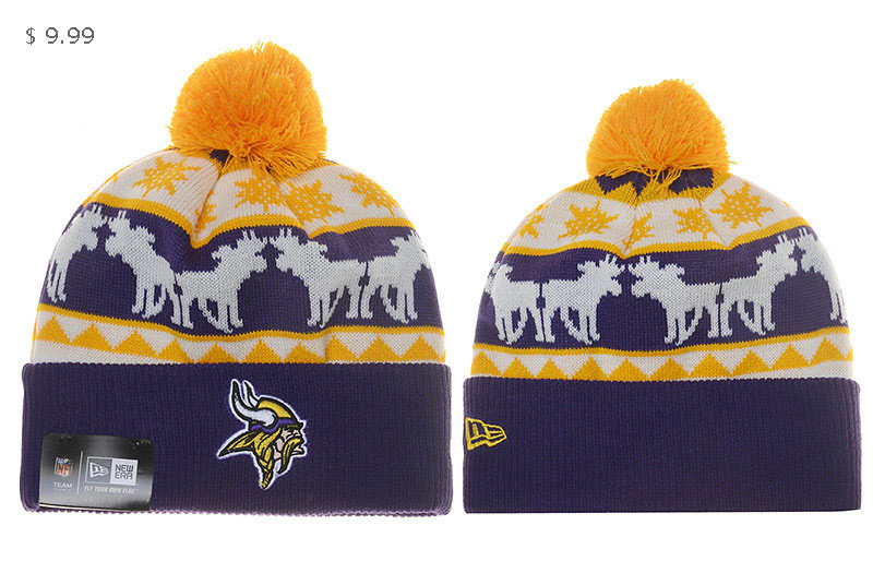 5a09b9ae 50% off minnesota vikings winter hat 2f17c 32389
